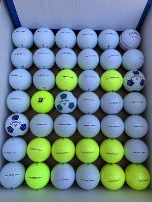 Golf Balls- like new name brand for Sale in Gilbert, AZ