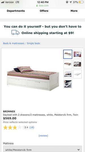 Twin bed (Black) for Sale in Orlando, FL