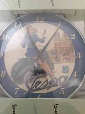Vespa clock for Sale in Valley Cottage, NY