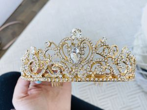 Adult Gold Medal Tiara for Sale in Seattle, WA