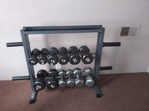 Weight Set and Rack for Sale in Warren, MI