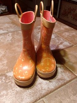Cherokee Rain Boots Girls M 7/8 !! for Sale in Boyertown,  PA