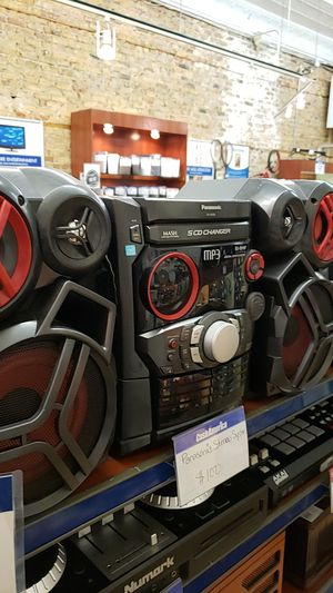 Panasonic Home Stereo System for Sale in Chicago, IL