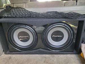 "Pioneer 12"" Subs 1400 Watts Ported Box **New** for Sale in Washington, DC"