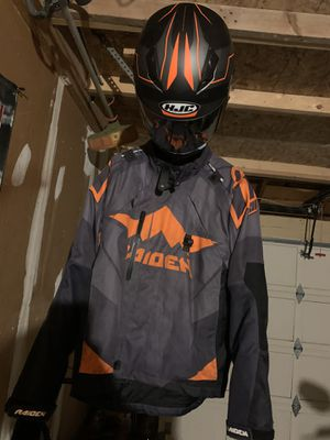 Motorcycle helmet and jacket combo for Sale in Denver, CO
