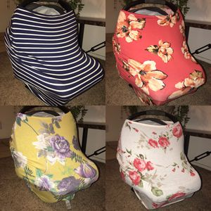 Carseat covers 4-in-1 multi use for Sale in Visalia, CA