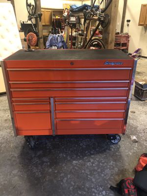 "60"" Snap-on 10 drawer toolbox for Sale in Renton, WA"