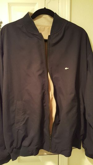 Lacoste..reversible jacket..large for Sale in Alexandria, VA