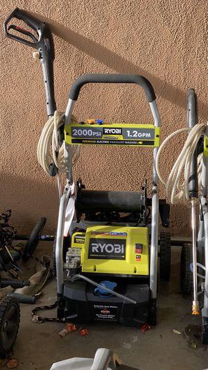 Ryobi 2000 Psi Electric Pressure Washer for Sale in Santa Ana, CA
