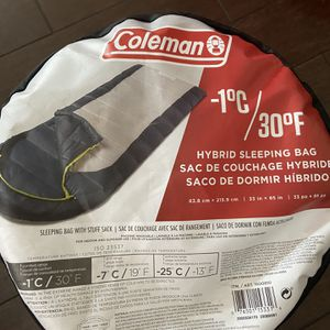 Coleman Sleep Bag for Sale in Los Angeles, CA