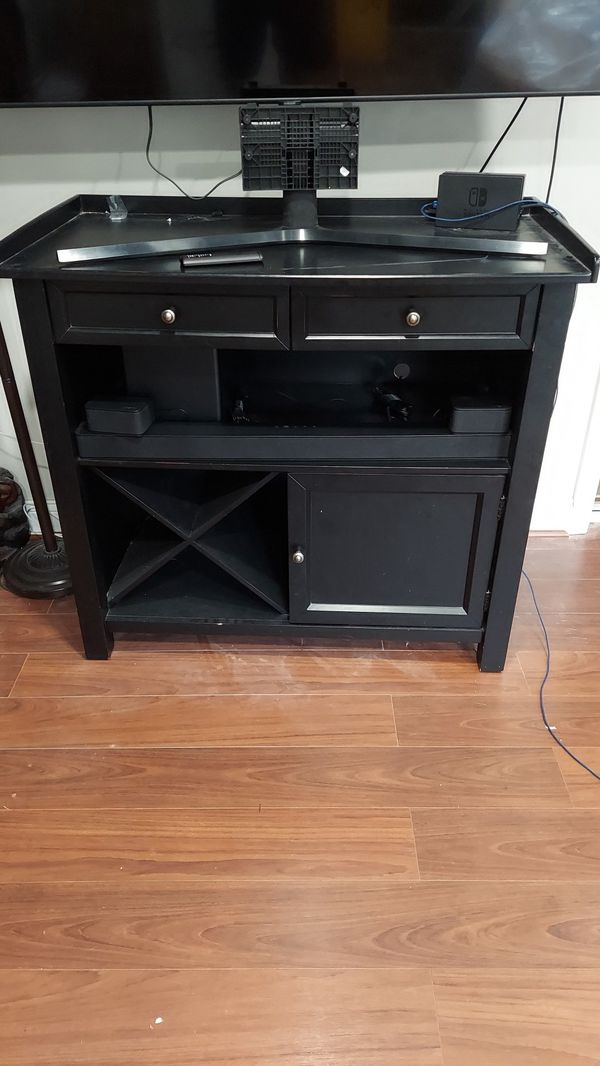Pottery Barn Side Table Buffet Wine Rack TV Stand etc