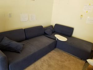 IKEA sectional sofa with built in table for Sale in Brentwood, CA