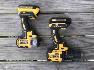 Dewalt brushless XR impact and driver drill set for Sale in Newport News, VA