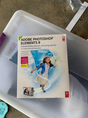 Adobe Photoshop Elements 8 for Sale in Mount Lemmon, AZ