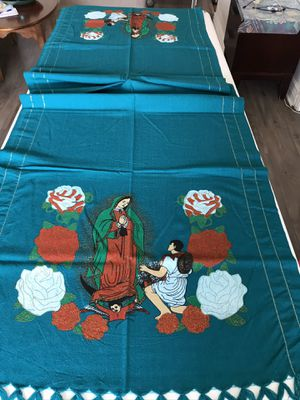 Mexican Rebozo Shawl Virgen se Guadalupe for Sale in Los Angeles, CA