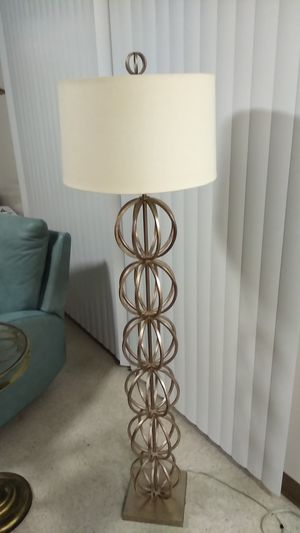 Sphere floor lamp for Sale in Renton, WA