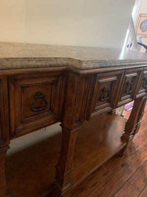 Rust Console Table for Sale in Kennesaw, GA