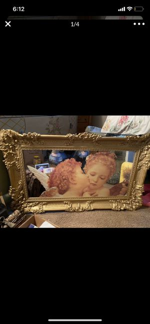 Antique angel mirror for Sale in Jurupa Valley, CA