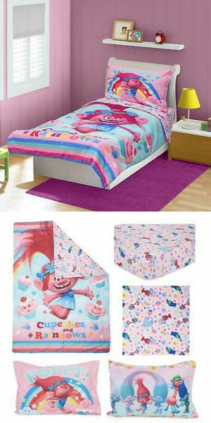 Trolls Poppy toddler bedding set for Sale in Vancouver, WA