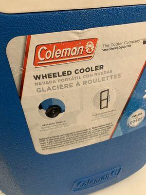 Coleman Wheel Cooler for Sale in Alexandria, VA
