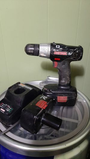 "Craftsman 3/8"" 19.3 drill driver {url removed}1316 for Sale in Spout Spring, VA"