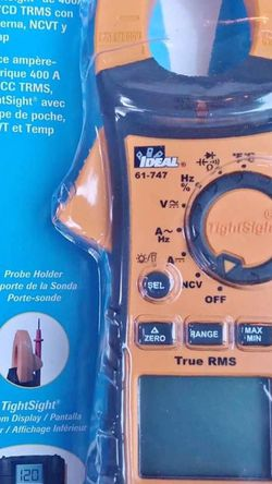 400A AC/DC TRMS CLAMP METER, TIGHTSIGHT W FLASHLIGHT, NCVT & Temp for Sale in Smyrna,  TN