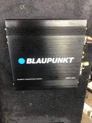 Amp blaupunkt 1500w mono block for Sale in Lakewood, CA