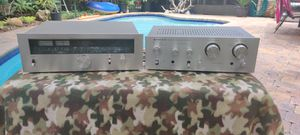 1970s Kenwood silver faced tuner and amplifier for Sale in Tampa, FL