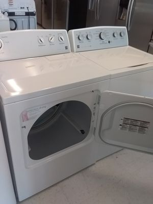 Kenmore washer and dryer used good condition 90days warranty for Sale in Mount Rainier, MD