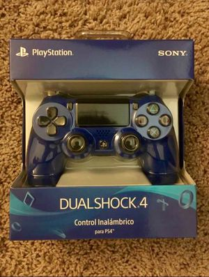 New PS4 Blue Controller for Sale in Leesburg, VA