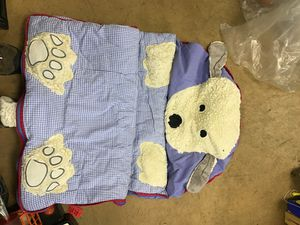 Children's puppy sleeping bag for Sale in Old Bridge Township, NJ