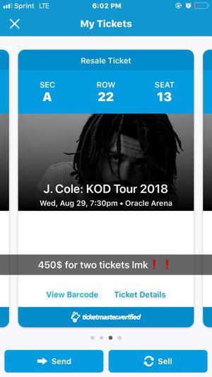 J Cole for Sale in Modesto, CA