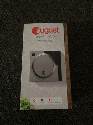 August doorbell cam new for Sale in Hialeah Gardens, FL