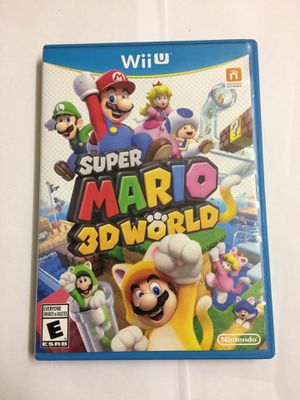 wii u Nintendo game Mario 3d for Sale in Savoy, IL