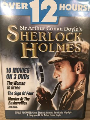 Sherlock Holmes DVDs - 10 Movies for Sale in Sterling, VA