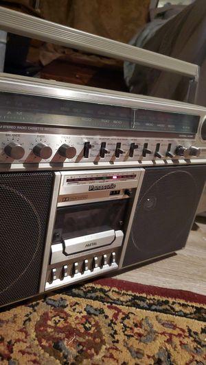 Retro Boombox Antique- Panasonic for Sale in Monroe, LA