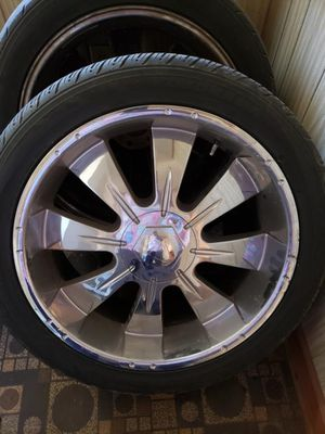 """23"""" Chrome Rims for Sale in Bolton, NC"""