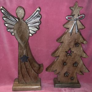 Wood Decor New All $30 Firm for Sale in Riverside, CA