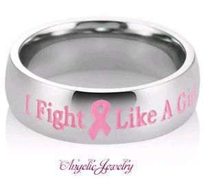 "Breast Cancer ""I Fight Like a Girl"" Ring for Sale in Frederick, MD"