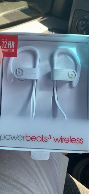 Powerbeats 3 never worn for Sale in Washington Crossing, PA