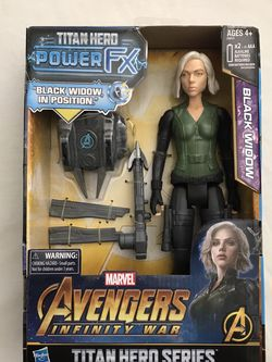 Marvel Avengers Infinity War Titan Hero Series Black Widow Around 11 Inches Tall New Speaks Phrases for Sale in Reedley,  CA