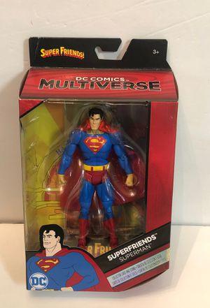 """DC Comics Multiverse Superfriends Superman 6"""" Action Figure Mattel for Sale in Las Vegas, NV"""
