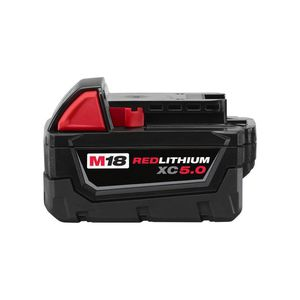 Milwaukee M18 18-Volt Lithium-Ion XC Extended Capacity Battery Pack 5.0Ah Was 129.00 Now 79.00 for Sale in San Diego, CA