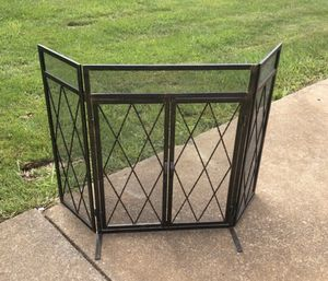 Fireplace screen for Sale in Stoneham, MA