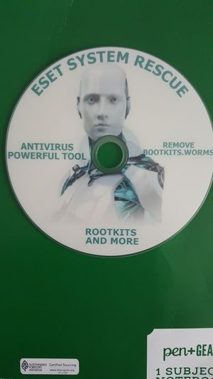 DVD ESET POWERFUL TOOL REMOVE BOOTKITS, ROOTKITS, WORMS,MALWARE for Sale in Freehold, NJ
