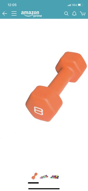 CAP 8lb dumbbell set BRAND NEW for Sale in Canonsburg, PA