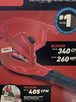 Toro Lead Blower With 2 Attachments And Bag for Sale in Henderson,  NV