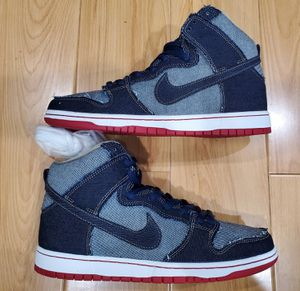 Brand New Mens Nike Dunk High SB Quickstrike Denim 10 TRD Midnight for Sale in El Monte, CA