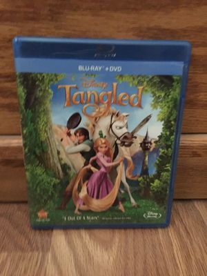 Disney's Tangled Blu-Ray for Sale in Santa Clarita, CA