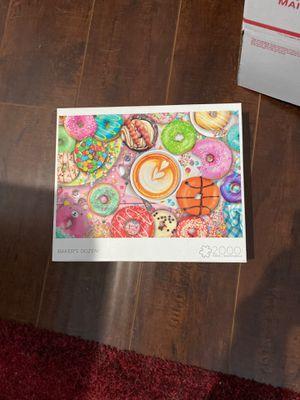 Buffalo Games 2,000 Piece Puzzle Bakers Dozen for Sale in Orange, CA
